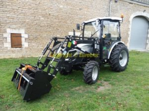 Tracteur lovol M354 cabine chargeur
