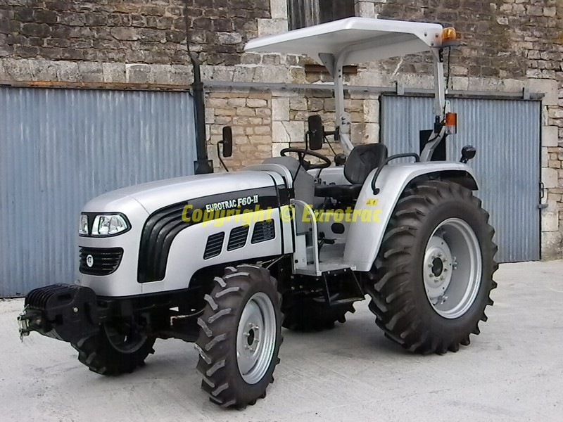 Tracteur eurotrac F60 II