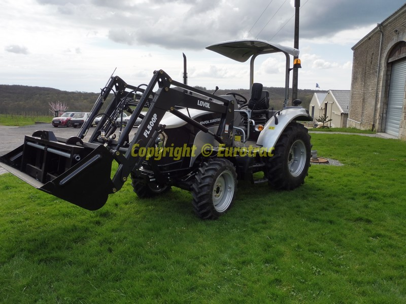 Tracteur lovol m504 chargeur