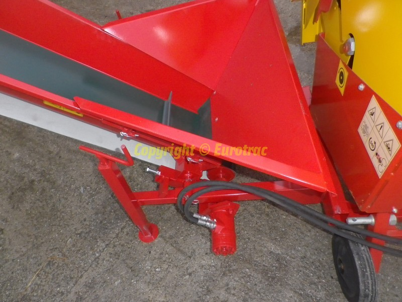 Scie circulaire GEO SAW 600 avec tapis chargement
