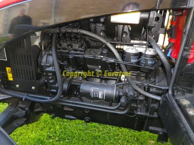 Tracteur yto x904 cabine