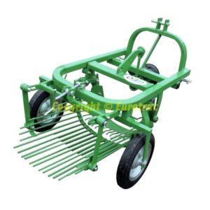 Arracheuse de Pommes de Terre à éjection arrière pour micro-tracteur