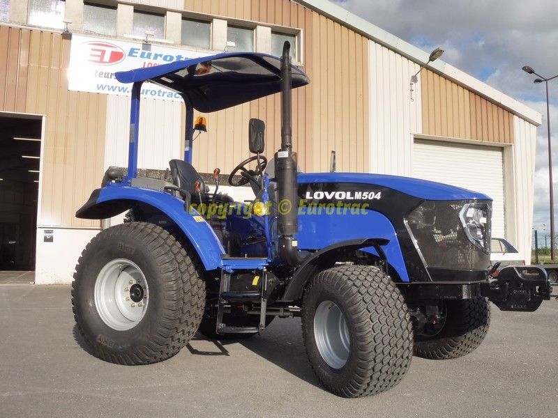 Tracteur lovol M504 canopy