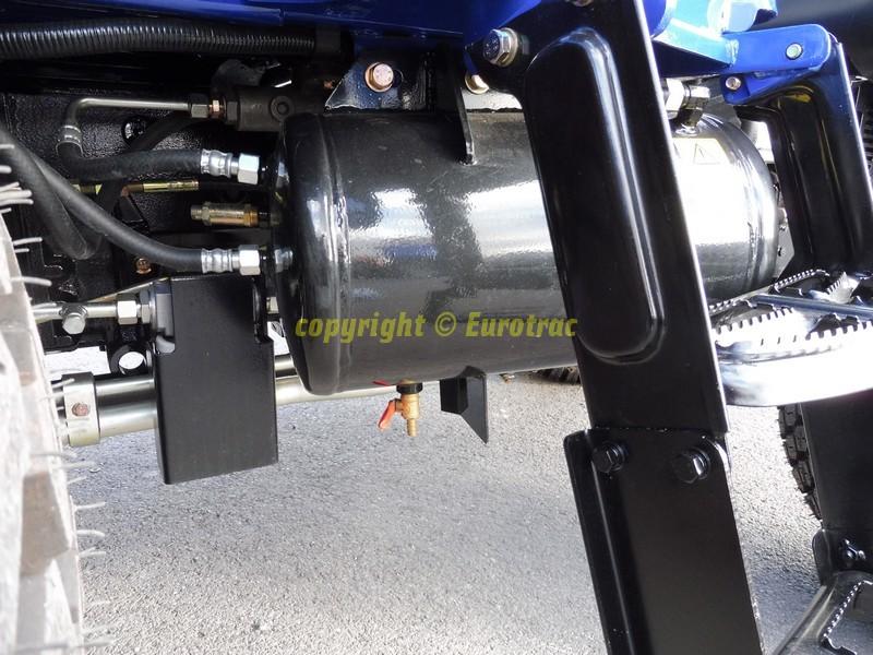 Tracteur lovol M504 canopy