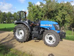 Tracteur Agricole SOLIS 75 CRDI avec Arceau de Sécurité