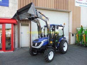 Tracteur agricole LOVOL M254 avec Cabine et Chargeur