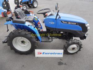 Micro tracteur agricole SOLIS 20 XL