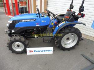 Micro tracteur agricole SOLIS 26 XL