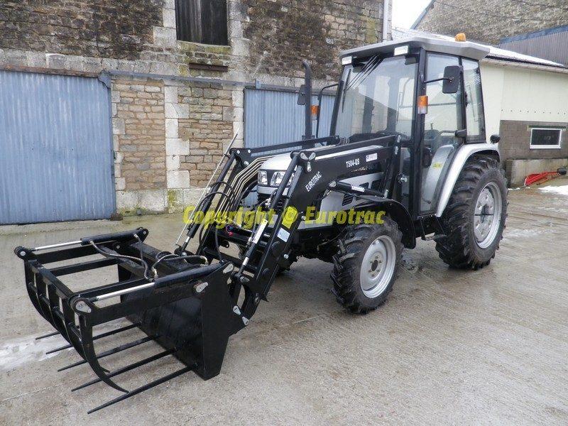 Tracteur eurotrac F60-II cabine chargeur