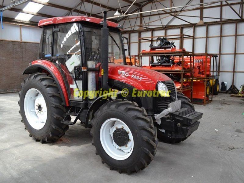 Tracteur YTO X804 Cabine