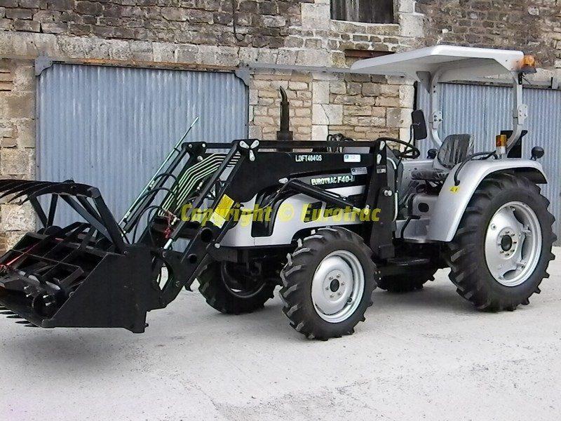Tracteur eurotrac f40 II chargeur
