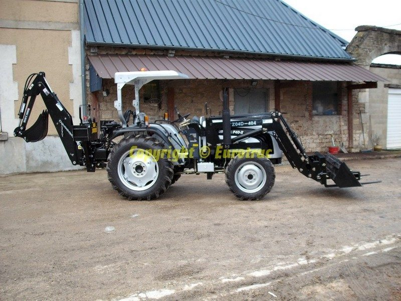 Tracteur F40 II Chargeur Retrocaveuse