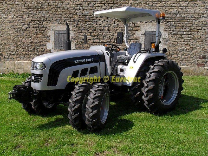 Tracteur Eurotrac f40 II jumelage